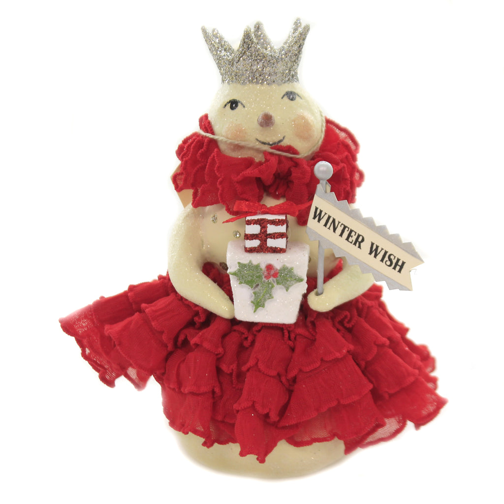 Christmas CRIMSON Polyresin Heather Myers 55242