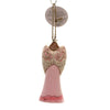 Jim Shore BREAST CANCER RIBBON ANGEL Polyresin Ornament 6005911