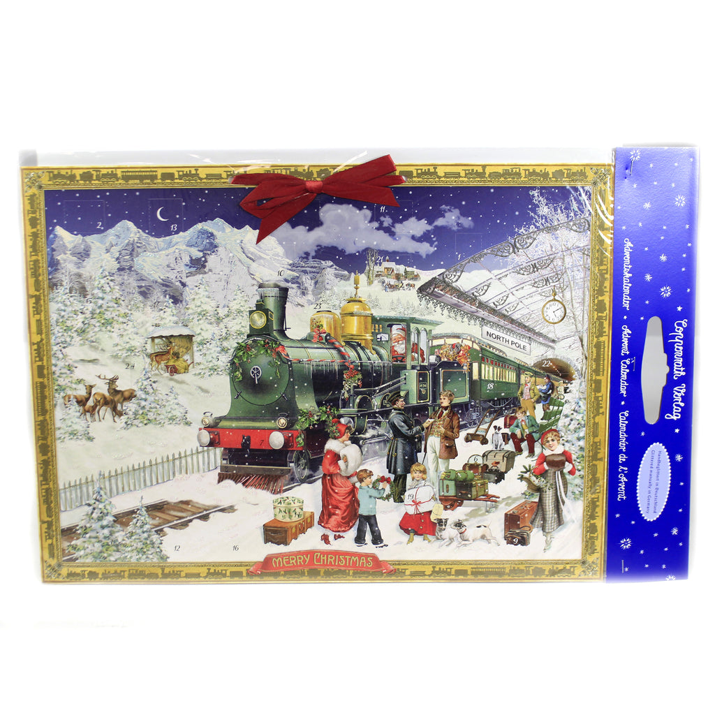 Christmas THE CHRISTMAS EXPRESS ADVENT Paper Calendar Germany 94123