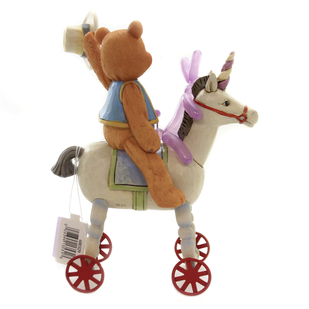 Jim Shore HEIGH HO SQUEAKY Polyresin Unicorn 6005129