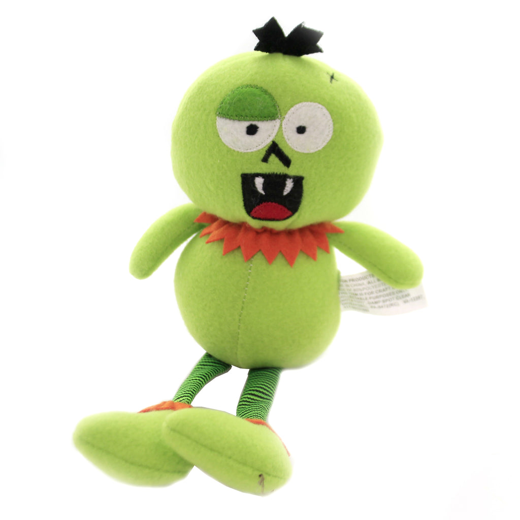 Halloween GREEN MONSTER Fabric Groggy Eyes 31620