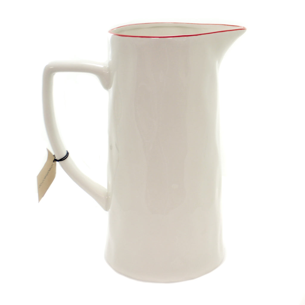 Tabletop HOLLY PITCHER Stoneware Dishwasher Safw Xm4010