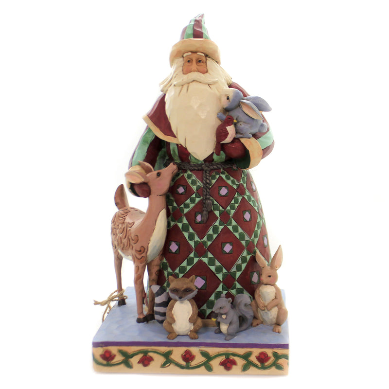 Jim Shore SANTA'S CREATURE COMFORTS Polyresin Animals 4060146