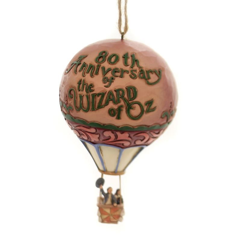 Jim Shore HOT AIR BALLOON 80TH ANNIVERSARY Wizard of Oz 6005082