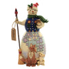 Jim Shore UNWRAP A FRIENDSHIP Polyresin Snowman Animals 6005248