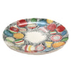 Tabletop VINTAGE WREATH SALAD PLATE Ceramic Dishwasher Microwave Safe Rtc19202