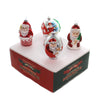 Shiny Brite HS SANTA FIGURES Glass Holiday Splendor 4027719.