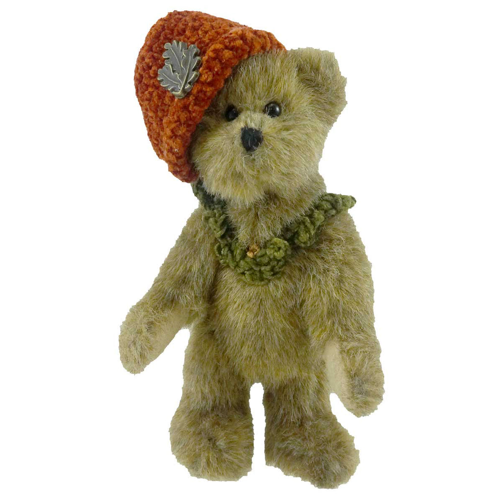 Boyds Bears Plush CECILIA DEBEARVOIRE Fabric Hat Series Fall Autumn 918101