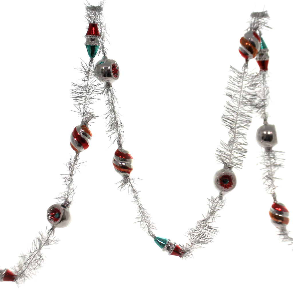 "Shiny Brite 84"" NH TINSEL TINSEL GARLAND Nostalgic Holiday New 2019 4027775 ."