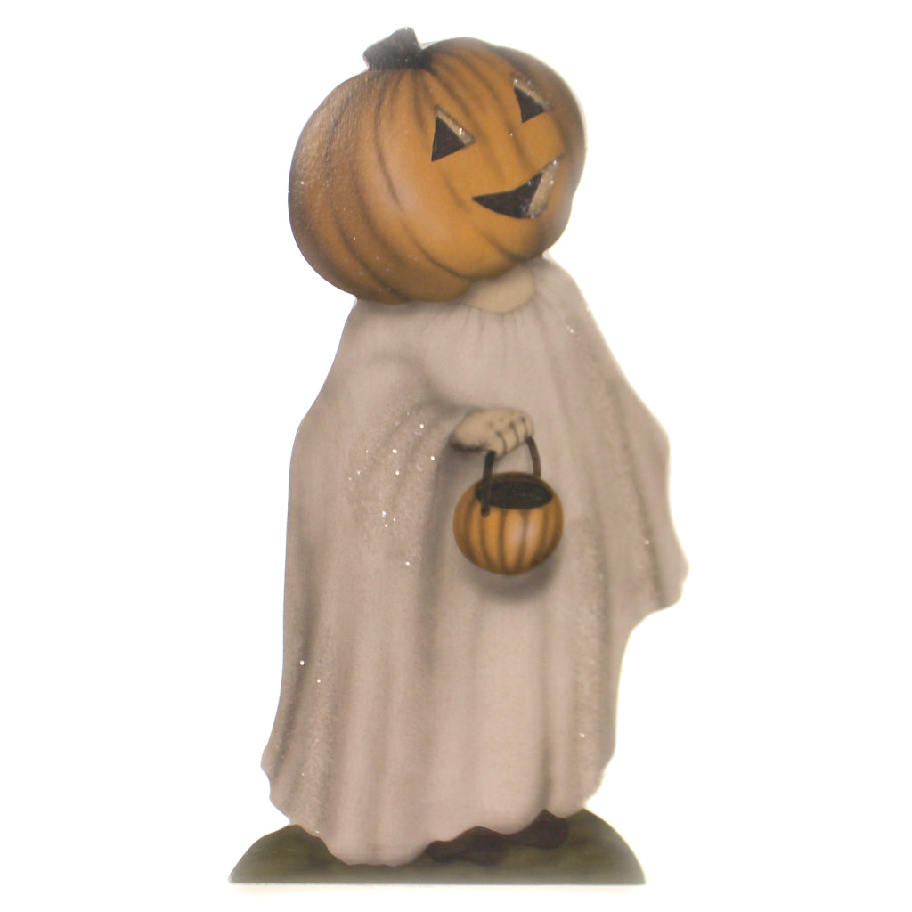 Halloween PUMPKIN TREATS DUMMY BOARD SM Wood Trick Or Treat Costume Bb8827