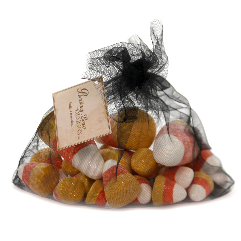 Halloween CANDY CORN IN BAG Styrofoam Halloween Fall Rl7307