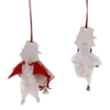 Holiday Ornaments CHENILLE SNOWMAN ORNAMENTS Chenille Bell Wreath Lo8199