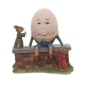 Figurine HUMPTY DUMPTY MICE Polyresin Tails With Heart 6005745