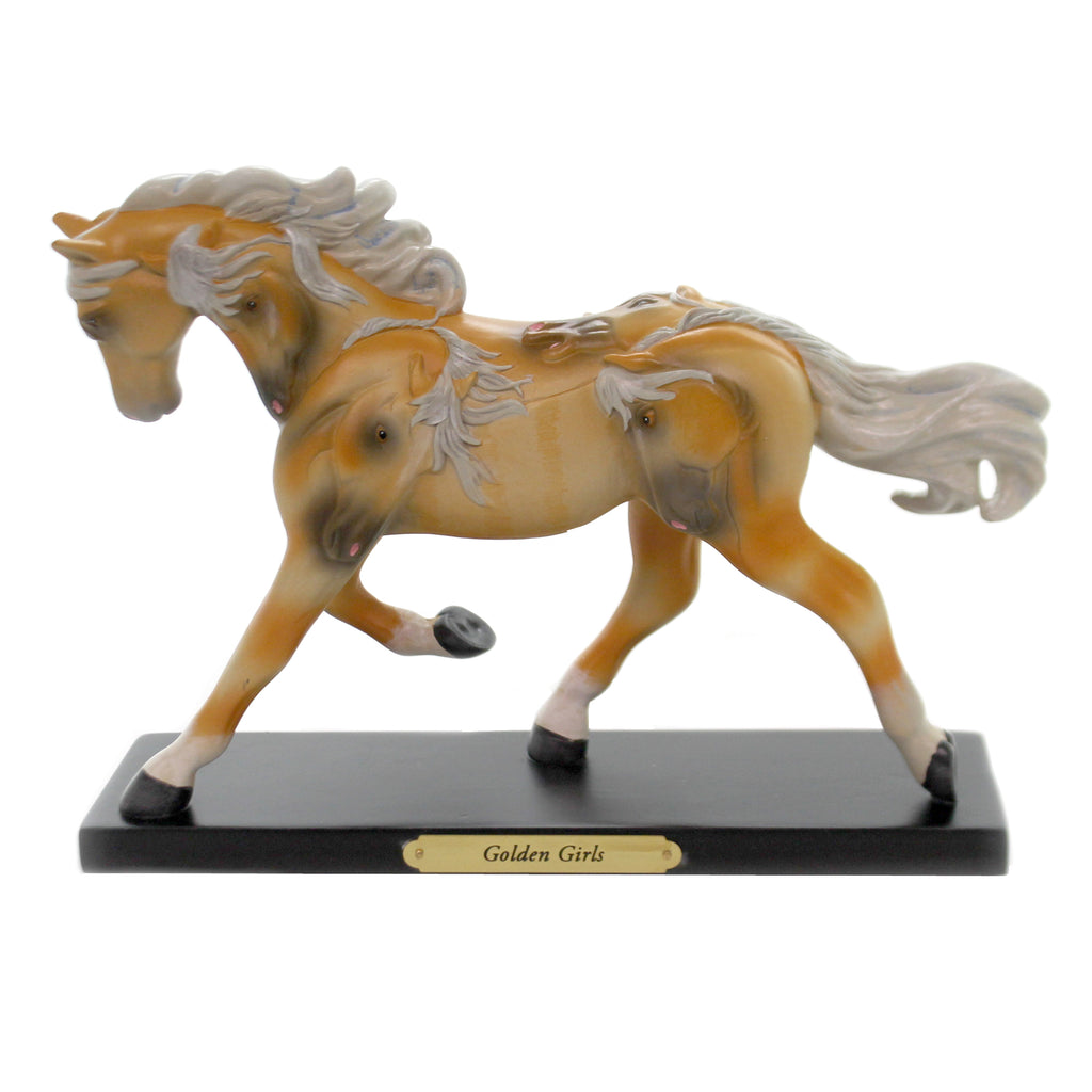 Trail Of Painted Ponies GOLDEN GIRLS Polyresin Limited Edition Horse 6006150Le