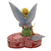 Jim Shore LOVE SEAT Polyresin Tinker Bell 6005966