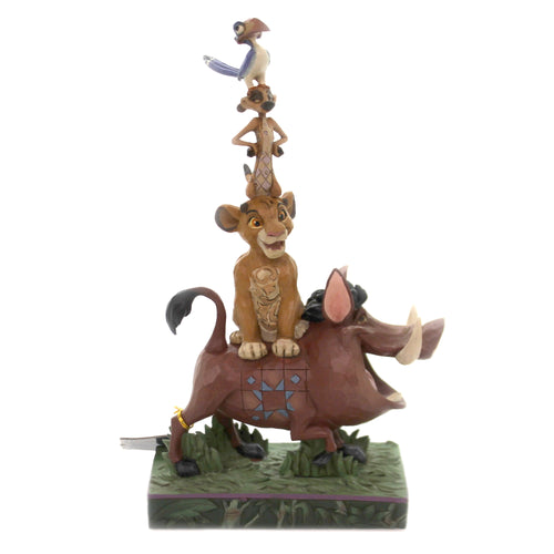 Jim Shore BALANCE OF NATURE Polyresin Lion King 6005962