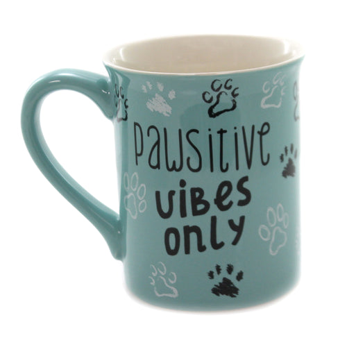 Tabletop RUFF LIFE MUG Ceramic Pawsitive Vibes Only 6005724
