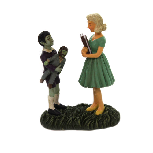 Department 56 Accessory EDDIE & MARILYN MUNSTER Universal Studios 6005637