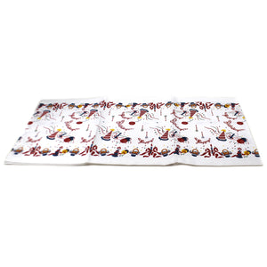 Tabletop HAPPY BIRTHDAY TABLE RUNNER 100% Cotton Party Cake Ballons Hb100r