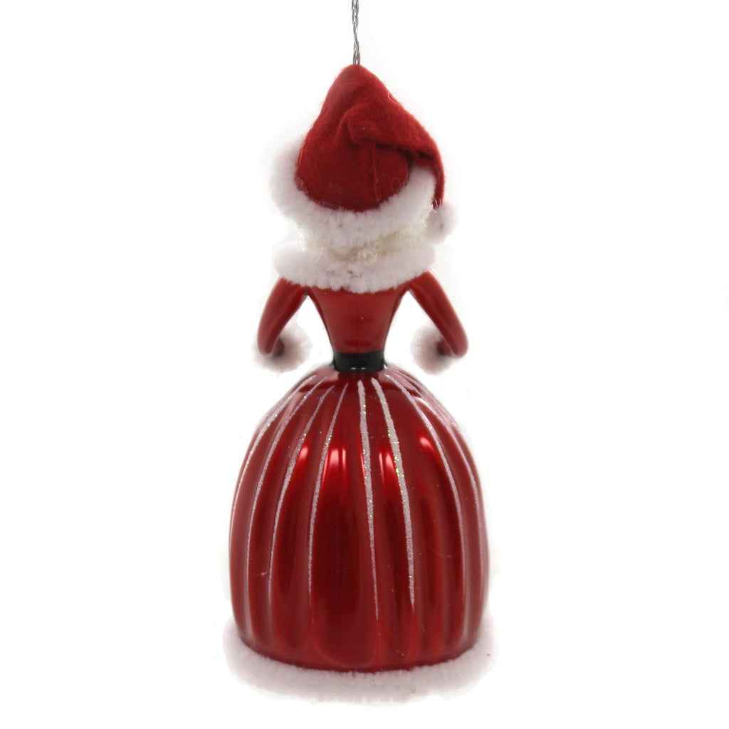 De Carlini MRS. CLAUS Glass North Pole Italian Bn441m