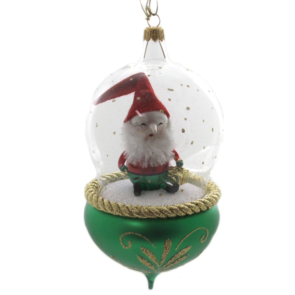 De Carlini ELF IN GLOBE Glass Italianholiday V3631