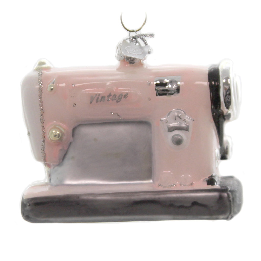 Noble Gems SEWING MACHINE. Glass Vintage Nb1432