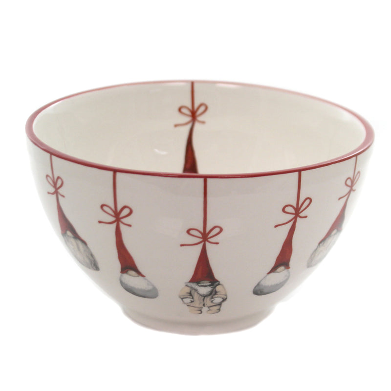 Tabletop SANTA BOWLS Ceramic Christmas 28504