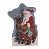 Cats Meow Village WILDERNESS SANTA STANDING Wood Christmas 19601