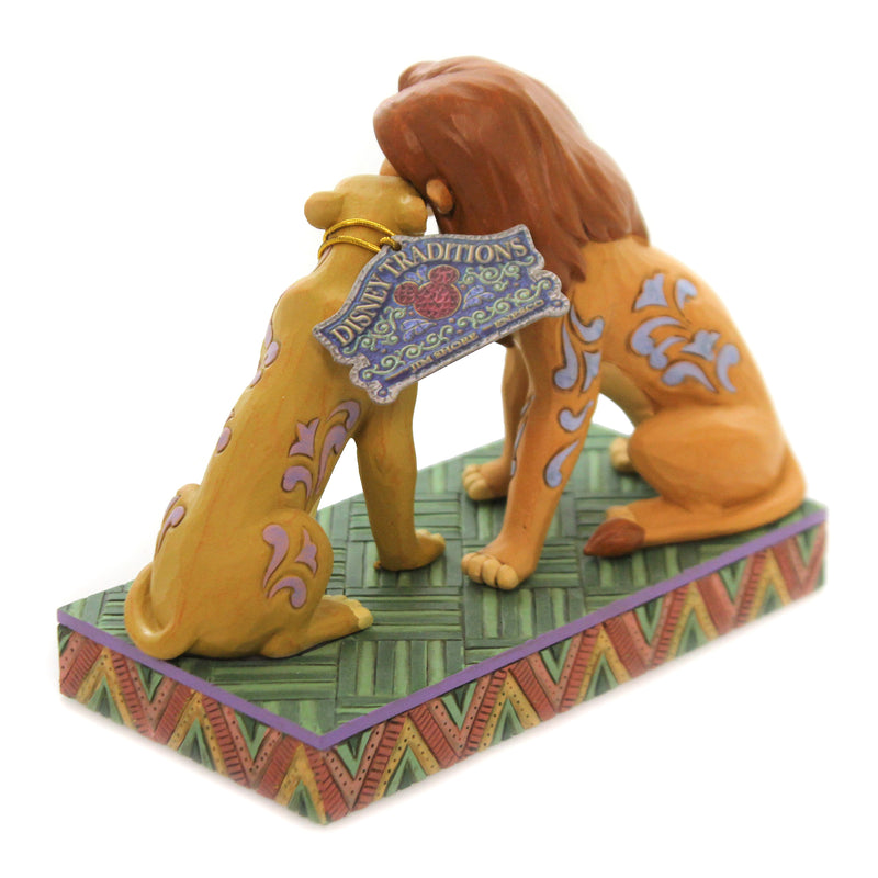 Jim Shore SAVANNAH SWEETHEARTS Polyresin Disney The Lion King 6005961