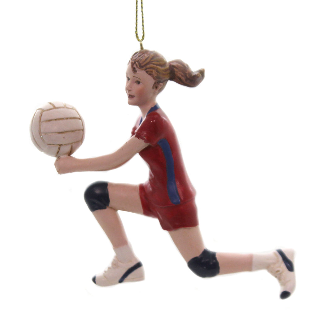 Holiday Ornaments FEMALE VOLLEYBALL PLAYER Sports Team USA Spike Beach C8819