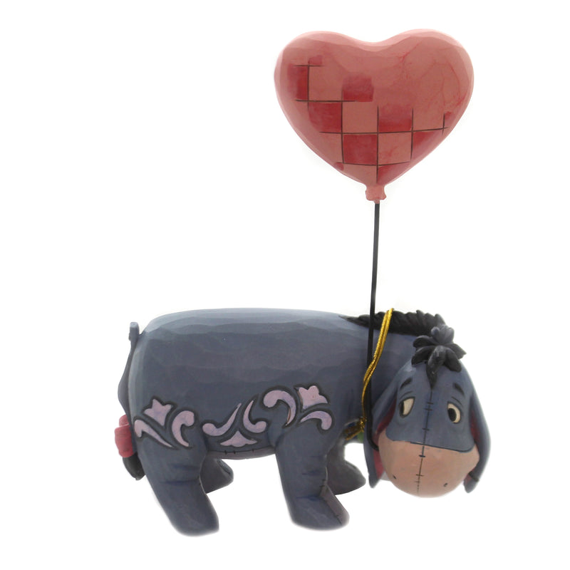 Jim Shore LOVE FLOATS Polyresin Eeyore Disney Valentines Heart 6005965