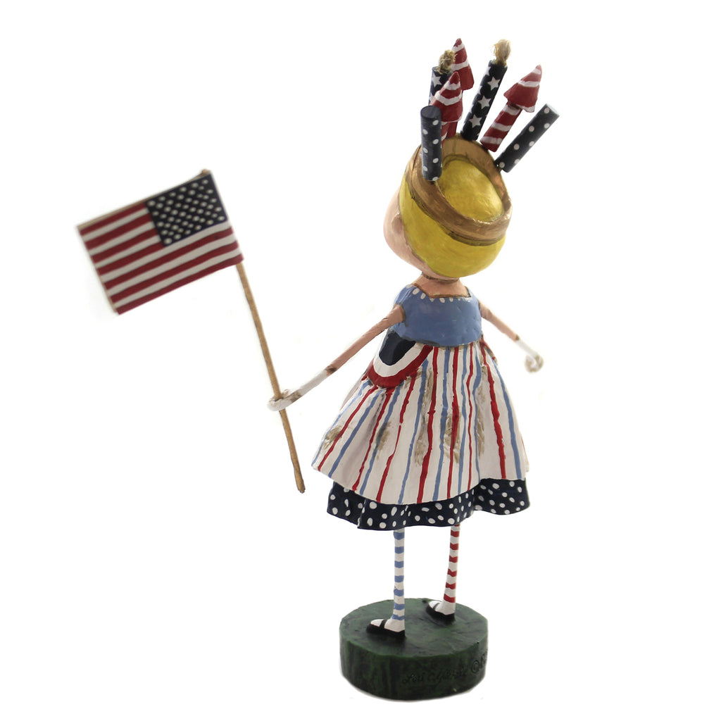 Independent Izzy 12282 Lori Mitchell Figurines - SBKGIFTS.COM - SBK Gifts Christmas Shop Cincinnati - Story Book Kids