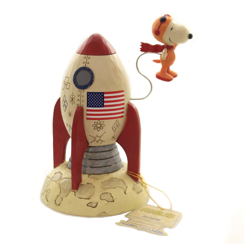 The Beagle Has Landed 6005948 Jim Shore Figurines - SBKGIFTS.COM - SBK Gifts Christmas Shop Cincinnati - Story Book Kids