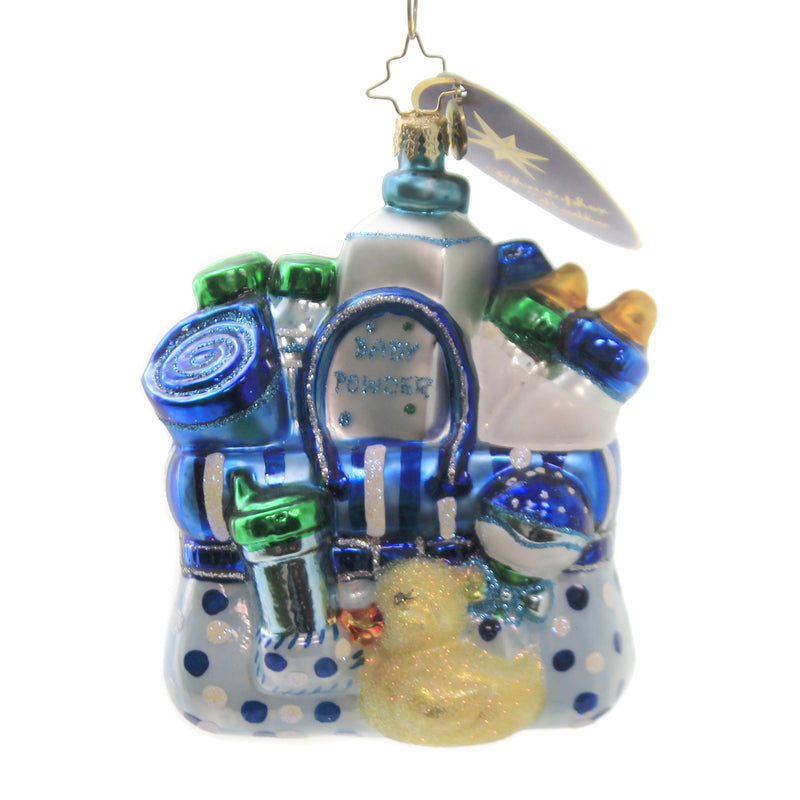 Baby Booty 1016772 Glass Ornaments - SBKGIFTS.COM - SBK Gifts Christmas Shop Cincinnati - Story Book Kids