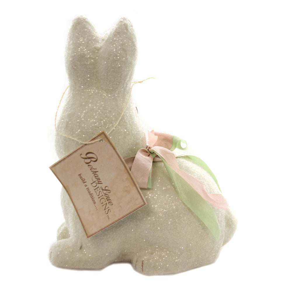 Little Bunny Paper Mache Tj9487 Easter Figurines - SBKGIFTS.COM - SBK Gifts Christmas Shop Cincinnati - Story Book Kids