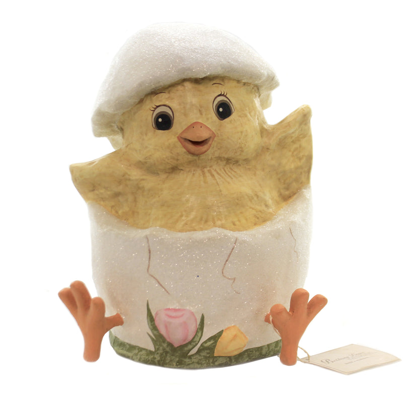Easter JUST HATCHED Paper Web Feet Chick Egg Tj9489