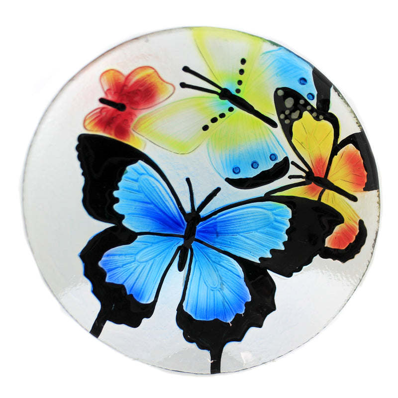 Butterfly Round Platter Ea14102 Tabletop Plates And Platters - SBKGIFTS.COM - SBK Gifts Christmas Shop Cincinnati - Story Book Kids