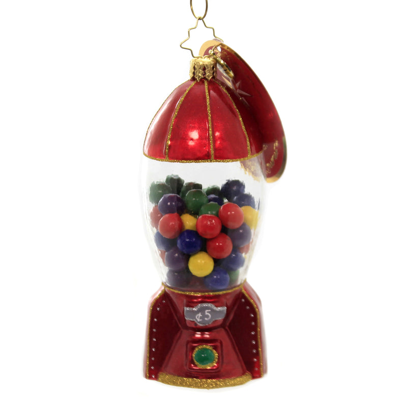 Gumball Blastoff 1018432 Glass Ornaments - SBKGIFTS.COM - SBK Gifts Christmas Shop Cincinnati - Story Book Kids