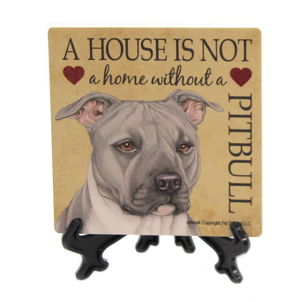 Pitbull Coaster House 24695 Animal Wine Boxes - SBKGIFTS.COM - SBK Gifts Christmas Shop Cincinnati - Story Book Kids