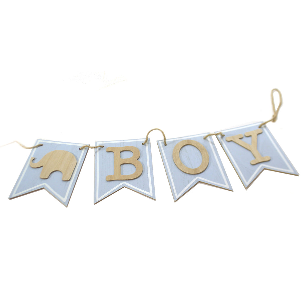 It's A Boy Banner Hanger 9730139 Child Related Signs And Plaques - SBKGIFTS.COM - SBK Gifts Christmas Shop Cincinnati - Story Book Kids
