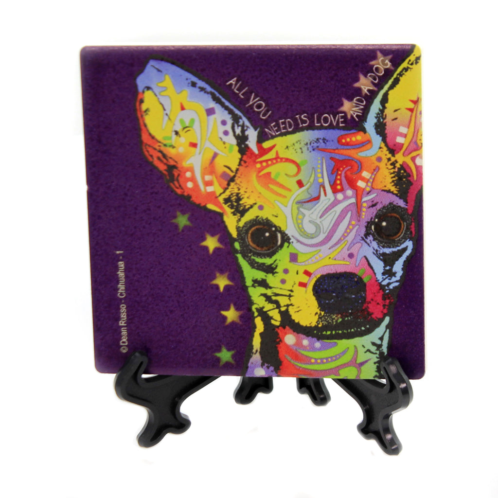Chihuahua Stone Coaster 78441 Animal Pet Lover Gifts - SBKGIFTS.COM - SBK Gifts Christmas Shop Cincinnati - Story Book Kids