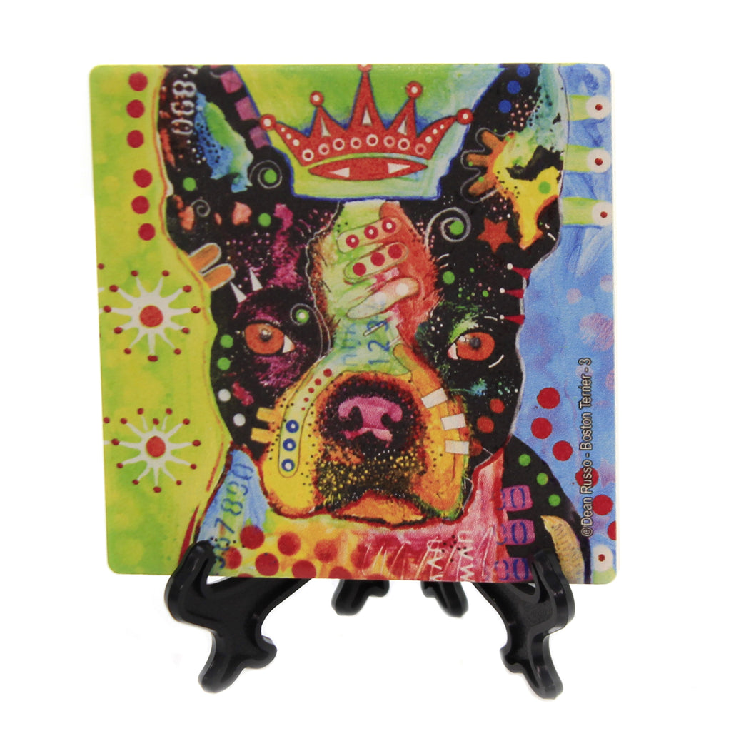 Boston Terrier Crowned 78443 Animal Pet Lover Gifts - SBKGIFTS.COM - SBK Gifts Christmas Shop Cincinnati - Story Book Kids