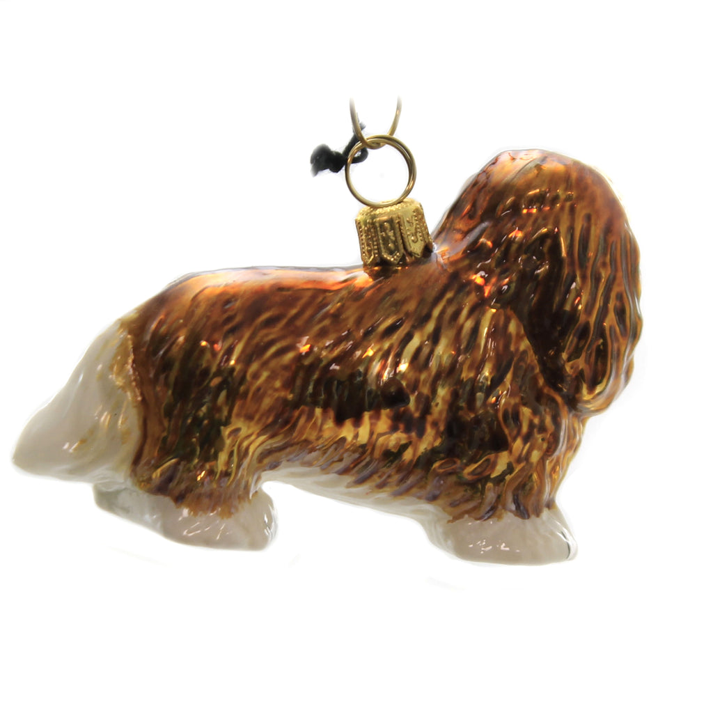 Cavalier King Charles Spaniel Zkp1811br Joy To The World Glass Ornaments - SBKGIFTS.COM - SBK Gifts Christmas Shop Cincinnati - Story Book Kids