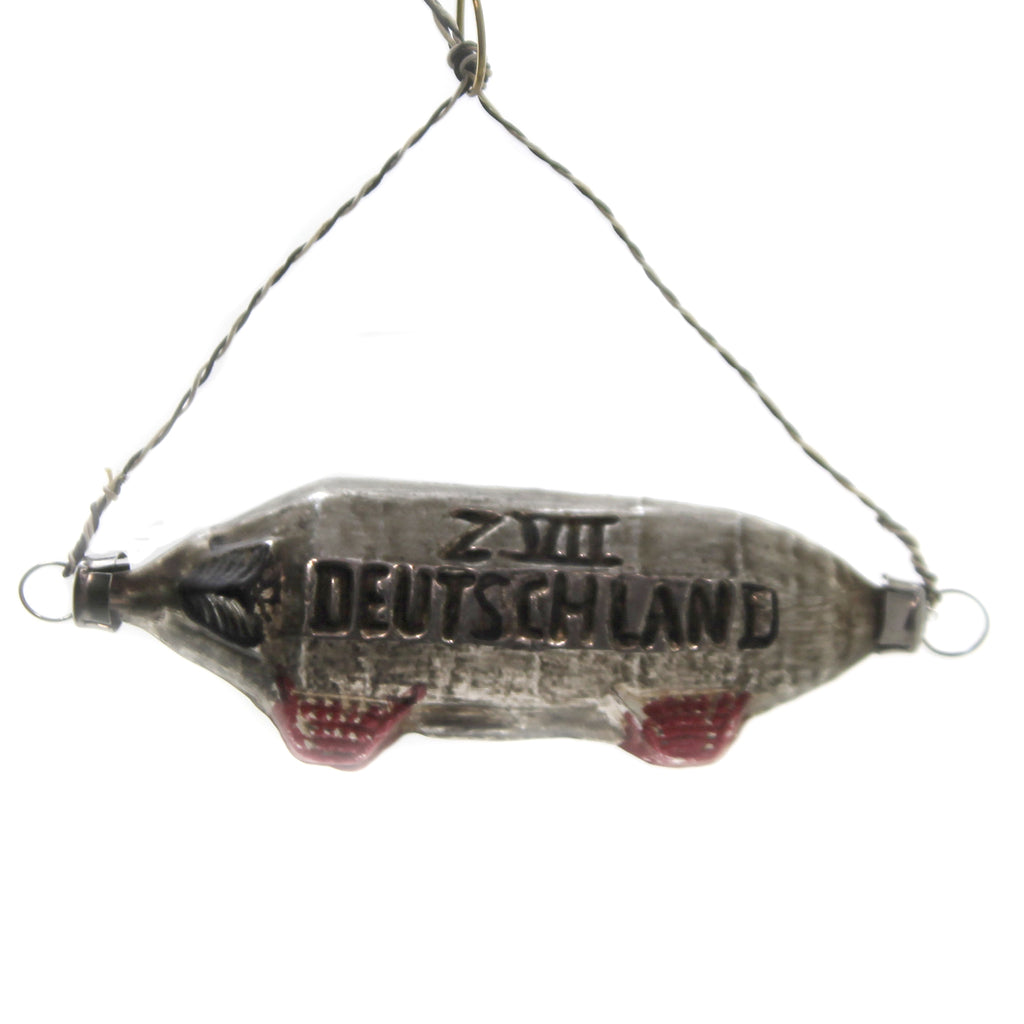 Zeppelin Airship 2011048 Marolin Glass Ornaments - SBKGIFTS.COM - SBK Gifts Christmas Shop Cincinnati - Story Book Kids