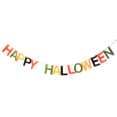 Happy Halloween Garland Lm8169 Halloween Garlands And Tree Trimmings - SBKGIFTS.COM - SBK Gifts Christmas Shop Cincinnati - Story Book Kids