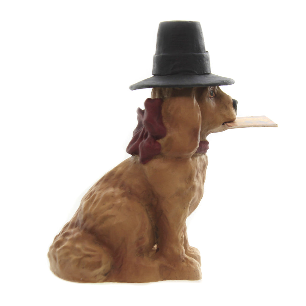 Thanksgiving Dog Td7665 Thanksgiving Figurines - SBKGIFTS.COM - SBK Gifts Christmas Shop Cincinnati - Story Book Kids