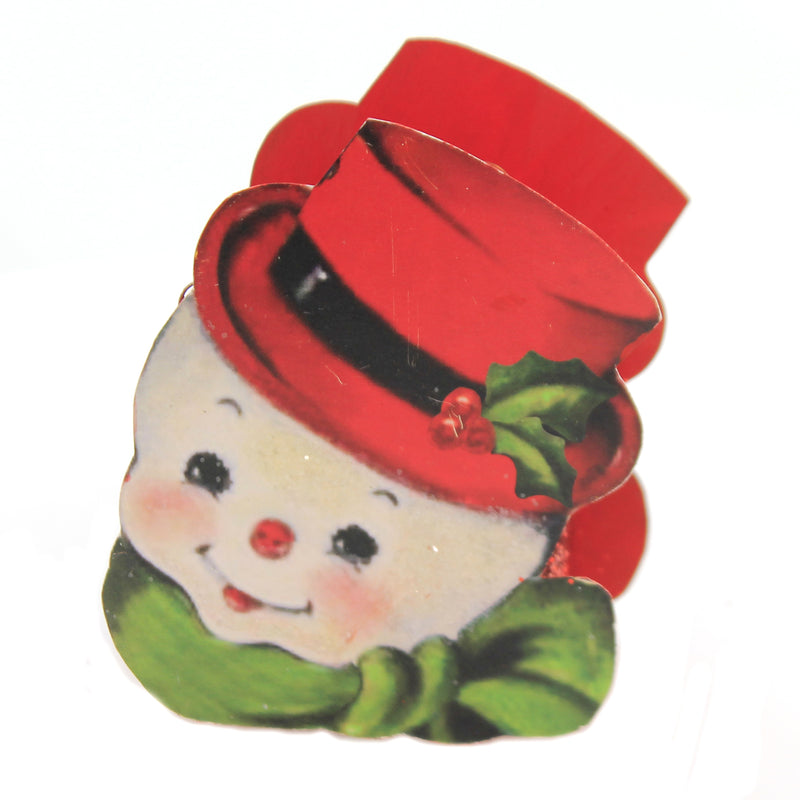Retro Christmas Bucket Tf8613 Snowman Christmas Home Decor - SBKGIFTS.COM - SBK Gifts Christmas Shop Cincinnati - Story Book Kids