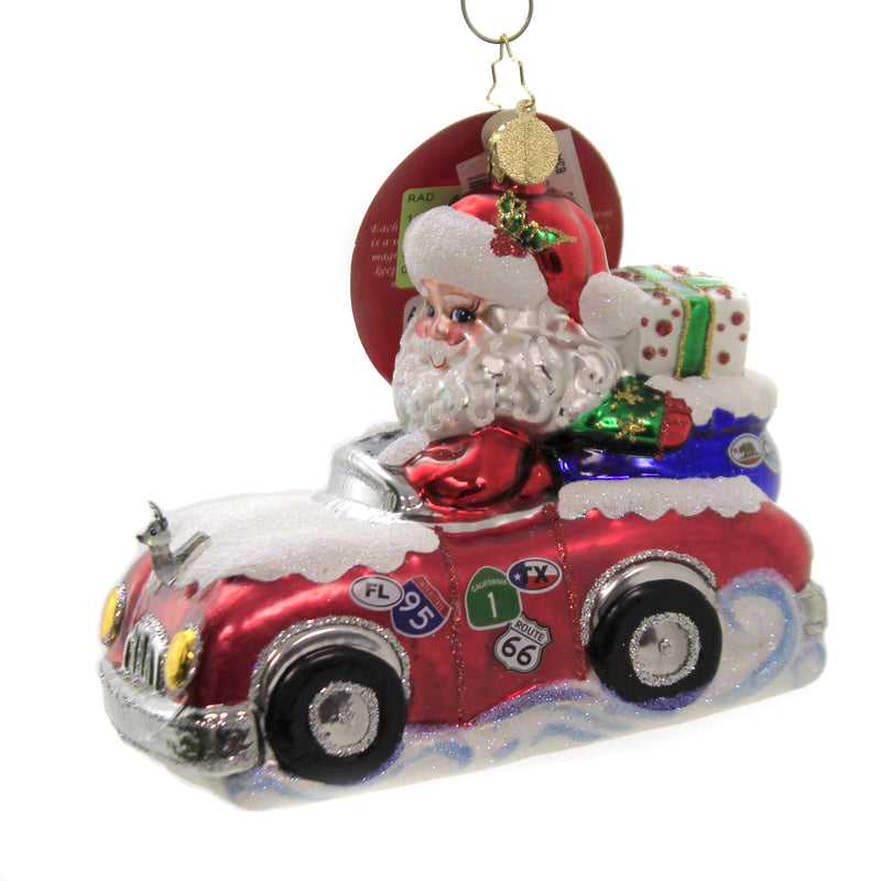 A Cross Country Christmas 1020120 Glass Ornaments - SBKGIFTS.COM - SBK Gifts Christmas Shop Cincinnati - Story Book Kids