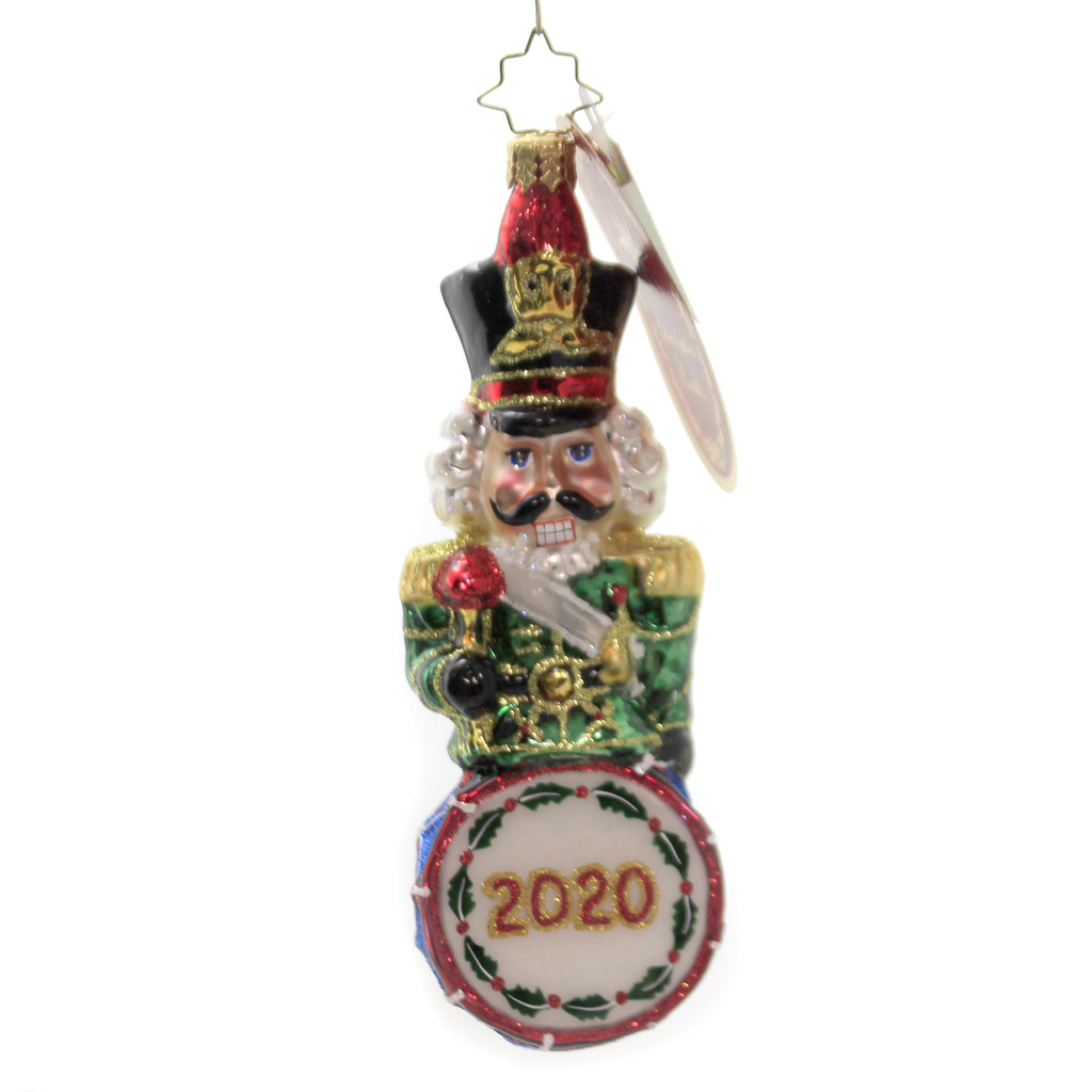 Drumline Nutcracker 2020 1020191 Glass Ornaments - SBKGIFTS.COM - SBK Gifts Christmas Shop Cincinnati - Story Book Kids