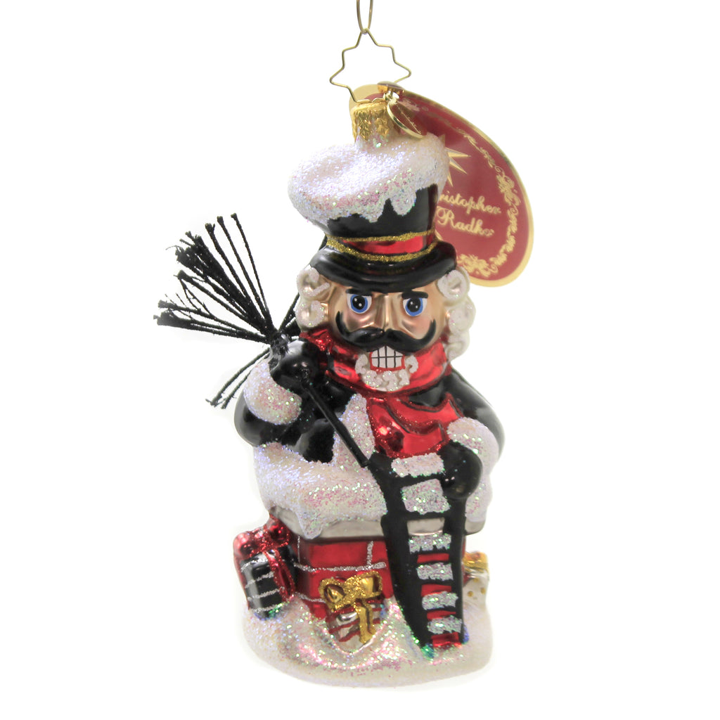 Well Sooted For The Job 1020215 Glass Ornaments - SBKGIFTS.COM - SBK Gifts Christmas Shop Cincinnati - Story Book Kids